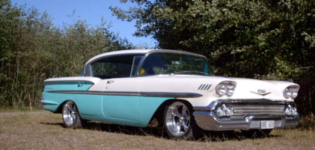Chevrolet 1958 4d Ht Impala Convertible